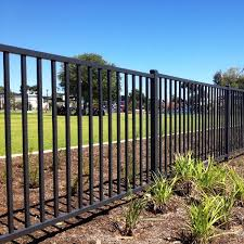 Commercial Iron Fence Mansfield Fence and Deck Company